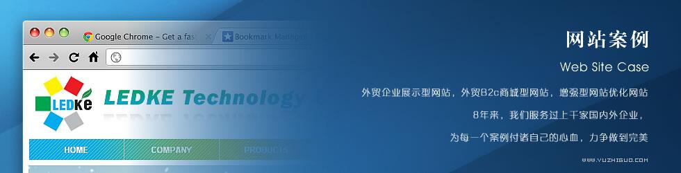外贸网站案例